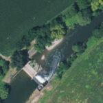 Centrale hydroélectrique du barrage B2 sur l'Ill à Colmar (68)