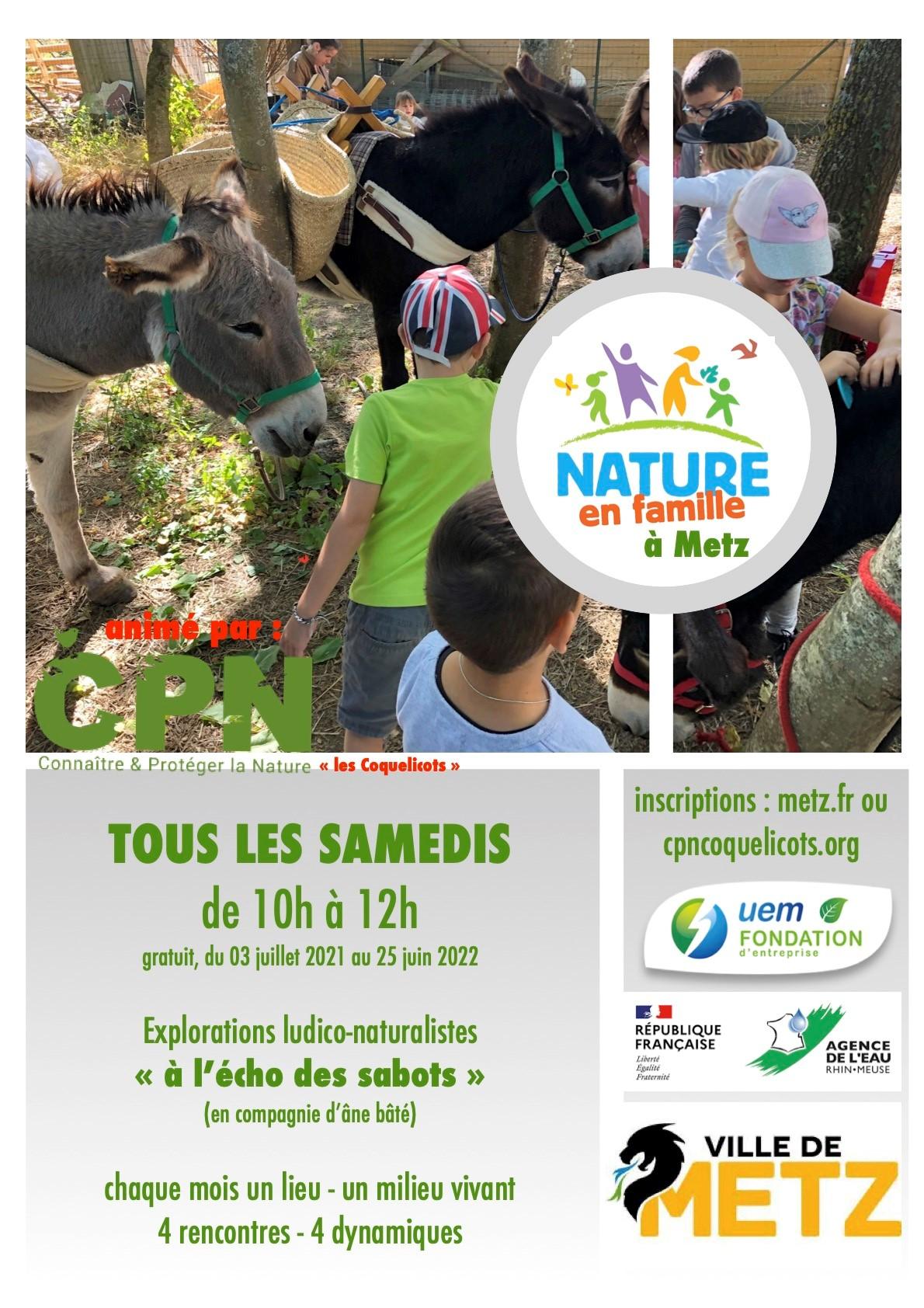 Nature en famille à Metz – Écocathlon